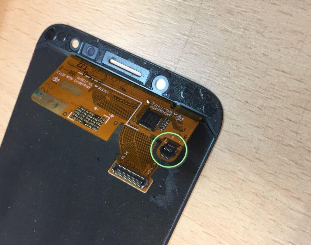 Wyświetlacz Samsung J7